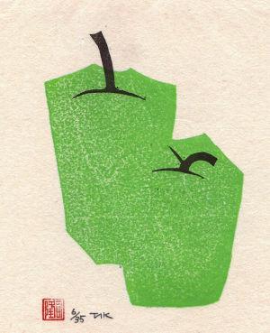 「季節はずれのりんご」大野隆司